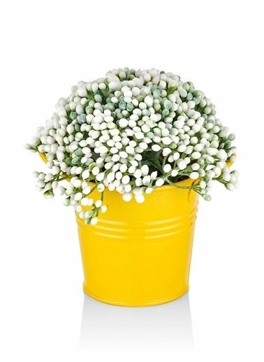 The Mia Yapay Çiçek - 15 Cm Sarı